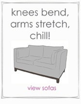Sofas bend knees