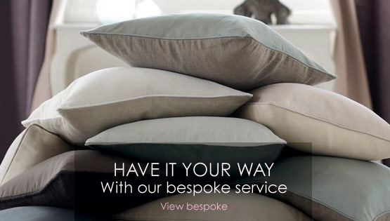 Have it your way with our bespoke service