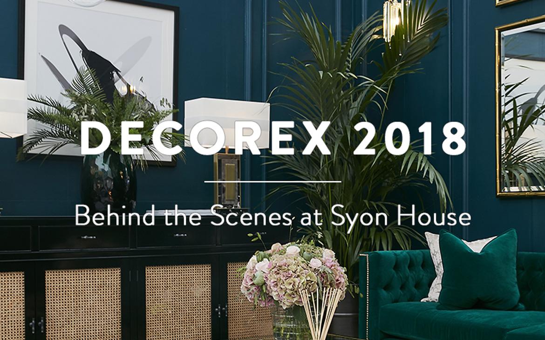 BEHIND THE SCENES AT DECOREX 2018