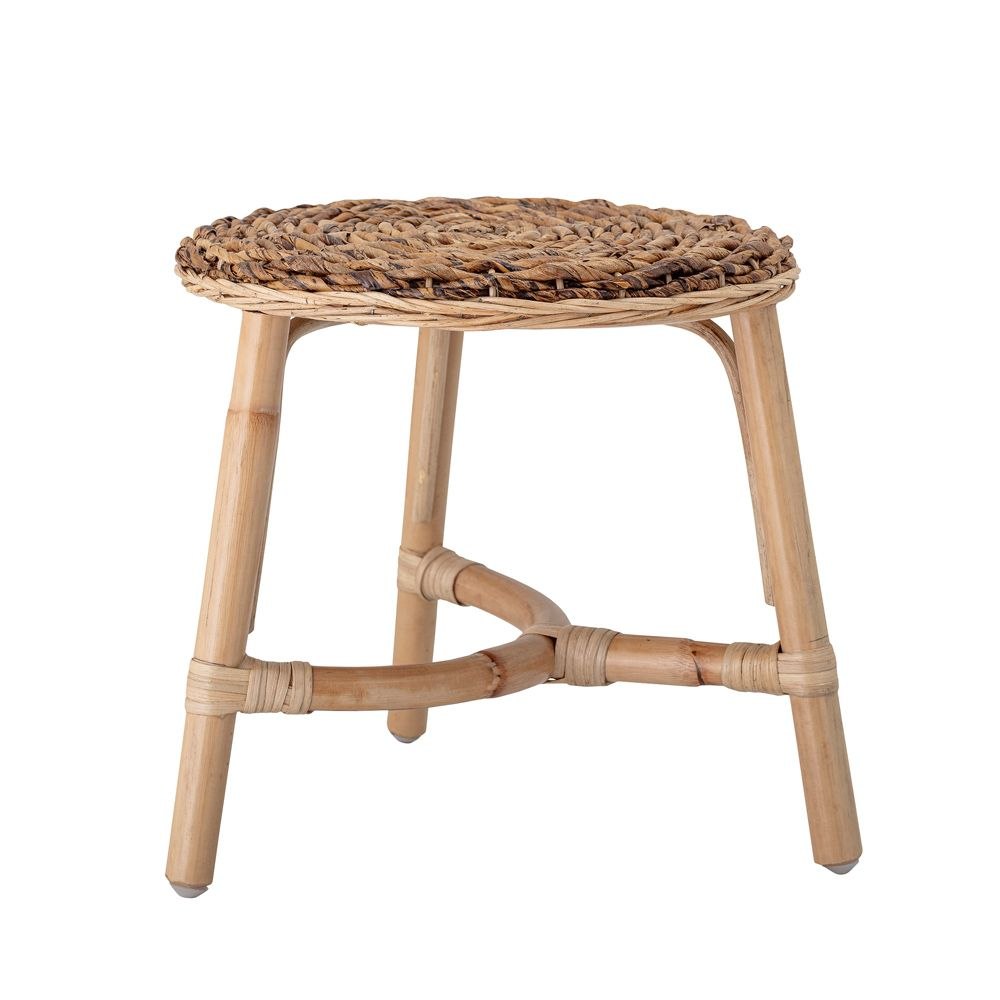 woven rattan kids stool