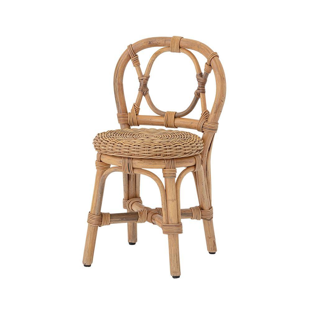 woven rattan kids chair
