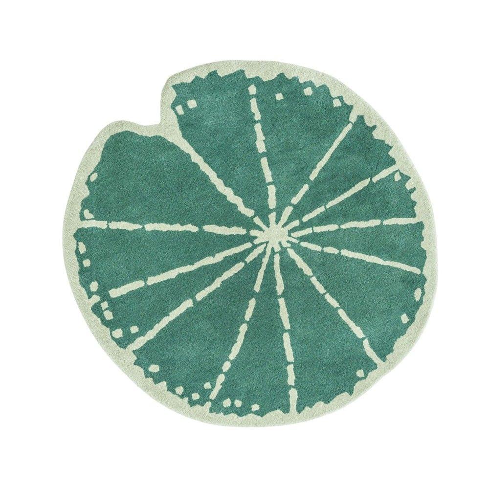 a green lilypad shaped ug