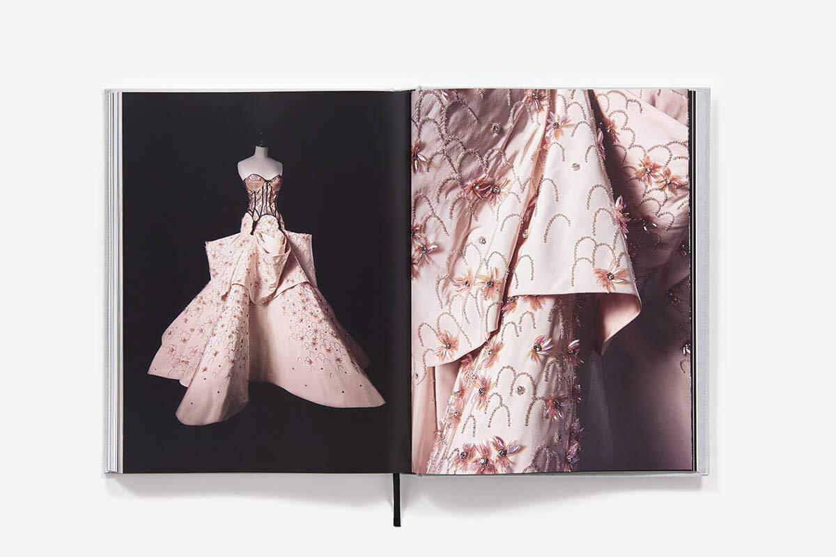 Christian Dior fashion book by Oriole Cullen, Connie Karol Burks