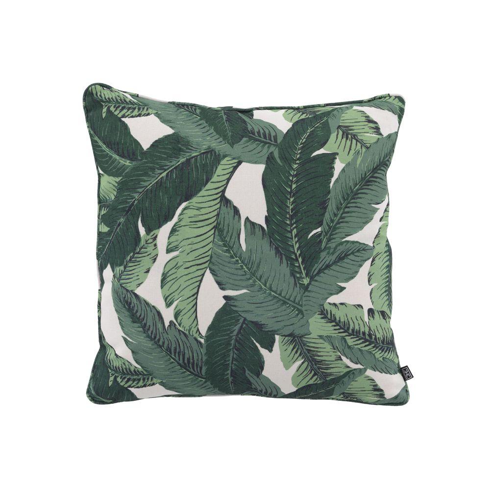 a tropical cushion