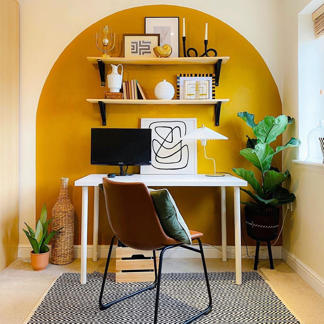 a luxurious kids study space