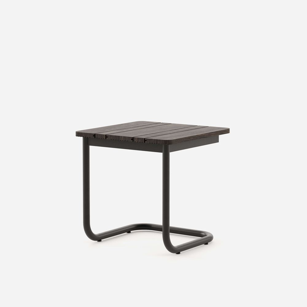 luxurious black side table
