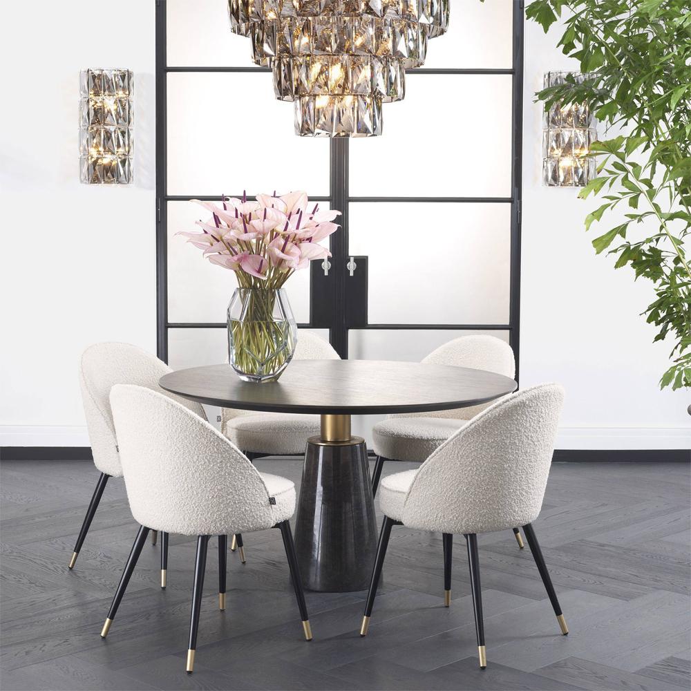 a luxurious dining arrangement