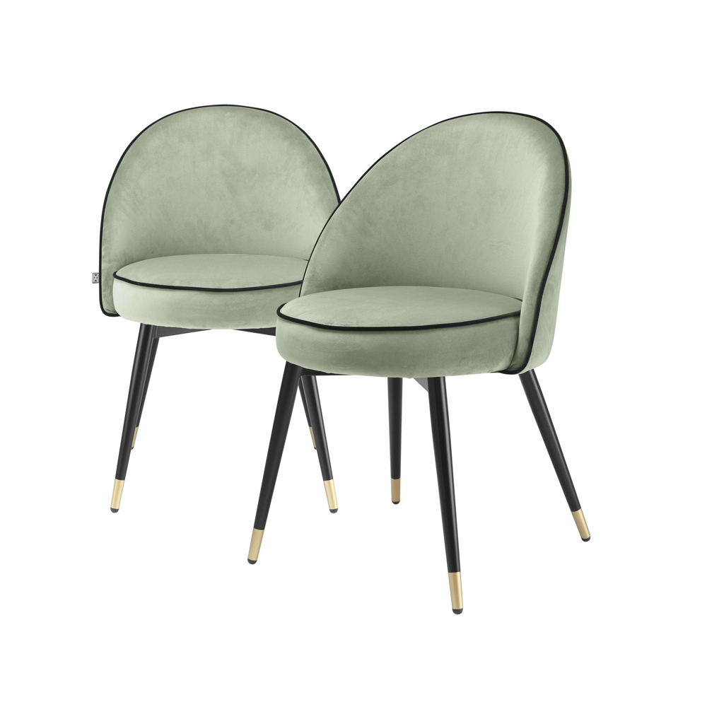 Eichholtz Set of 2 Cooper Dining Chairs