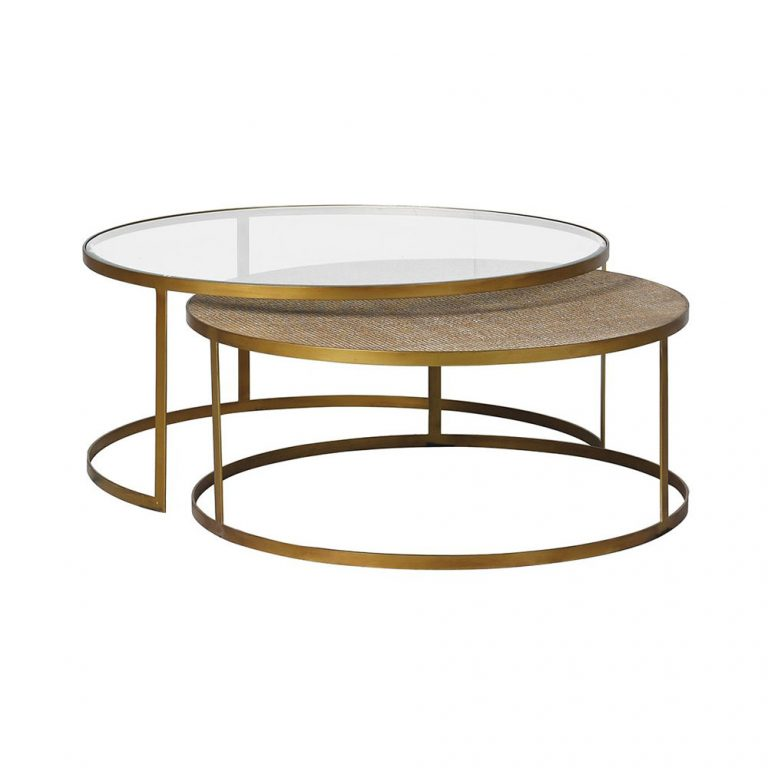 Assam Coffee Tables - Set of 2