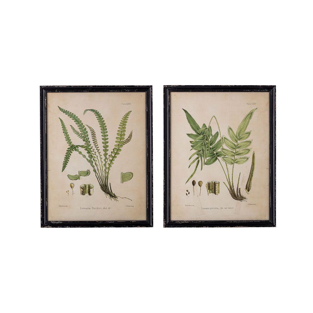 Bloomingville Abeni Print with Frame - Set of 2