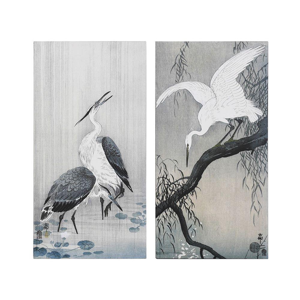 Saki Heron Prints - Set of 2