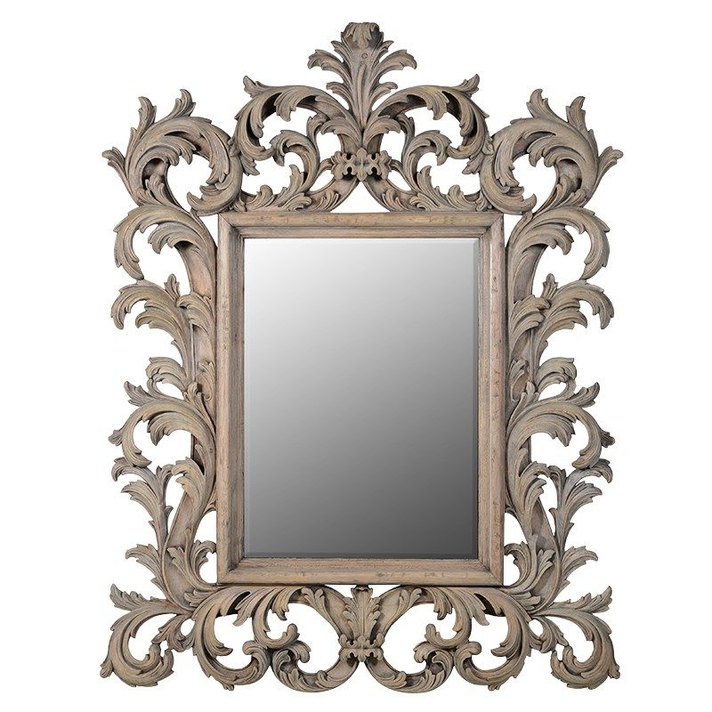 Edwina Carved Mirror