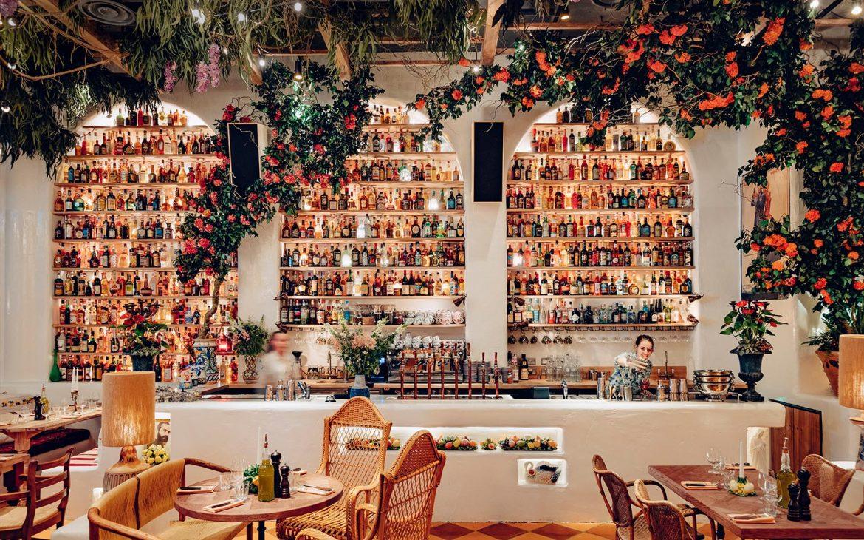 A luxurious italian restaurant