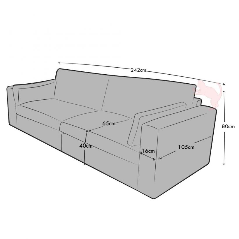 3 Seat (2 part)