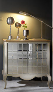 French Deco Glamour Cabinet