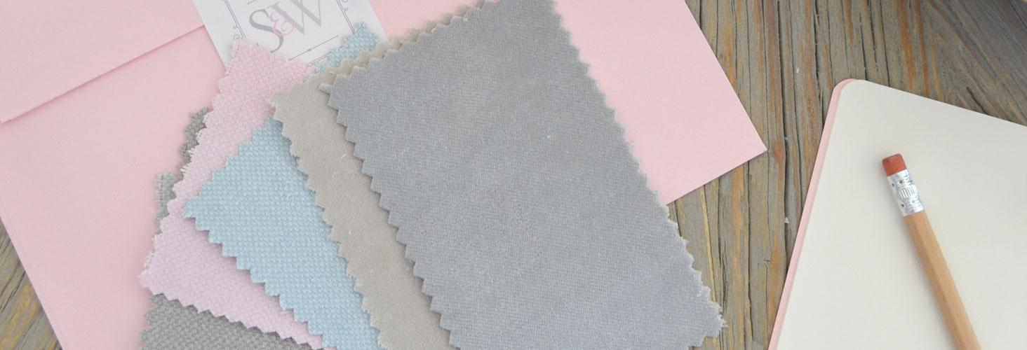 Order your FREE gorgeous fabric samples below and we'll pop them in the post for you right away. Simply select your favourite 6 FREE swatches then click 'Order'. Easy!